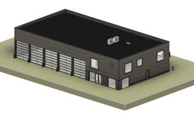 Nieuwbouw brandweerkazerne Horst